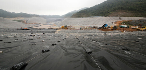 Sanitary Landfill Located in Shenzhen, China