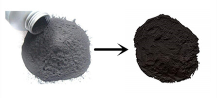 Waste powder activated carbon reuse