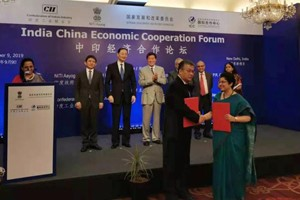"China and India signed the ""Circular Economy Strategic Cooperation Framework Agreement"
