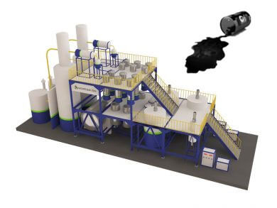 Waste Oil Recycling Plant